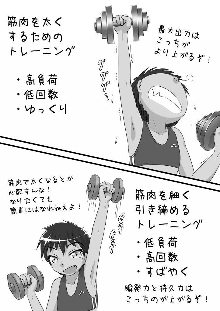 [同人]「【無料】走れ!ダイエット部!02話」(ヤスタケ屋)