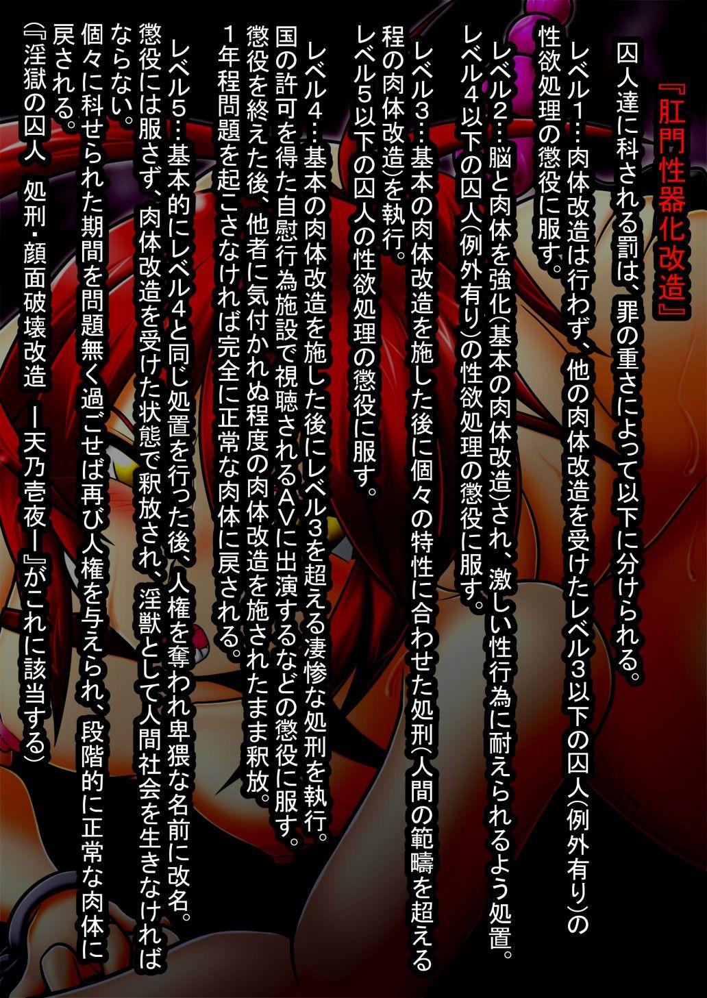 淫獄の囚人 処刑・スライム肛門出産改造 -名雲燐華-