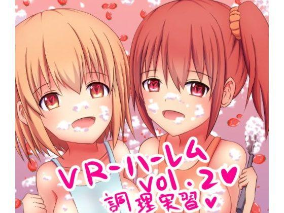 【ガビアルの住み家 同人】VR-ハーレムvol.2調理実習編