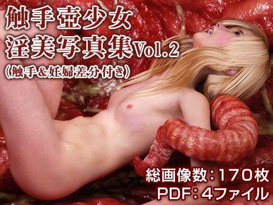 触手壺少女淫美写真集(触手&妊婦差分付き) Vol.2
