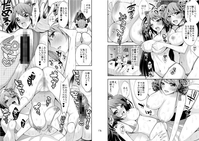 【ガットマキア 同人】王の居ぬ間の寵姫の宴