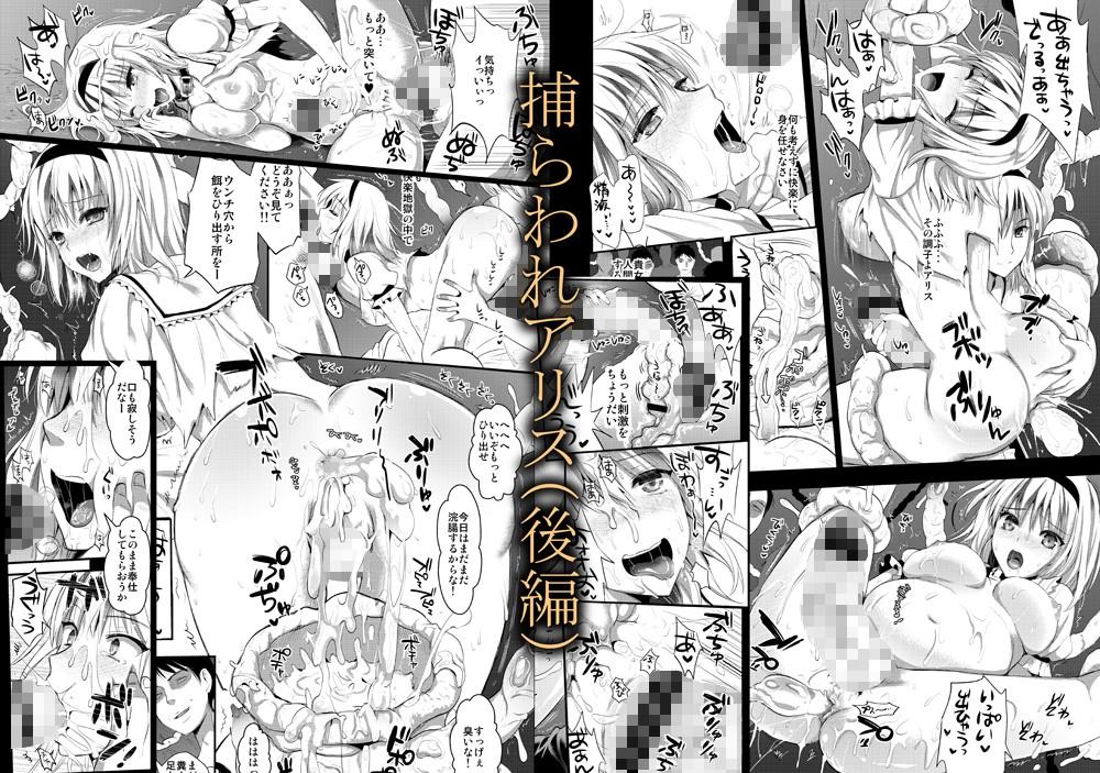 【同人コミック】捕らわれアリス 糞肉便器 | 大人漫画.com|無料エロマンガ同人誌