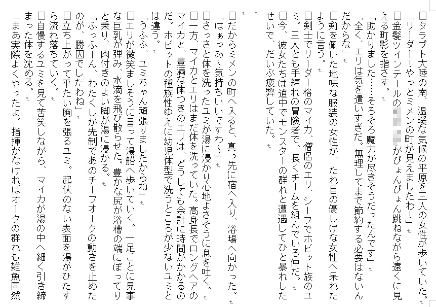 【SAOMAN 同人】ある女冒険者たちのしあわせな末路~鬼畜大賢者ディガイズの状態変化魔法~