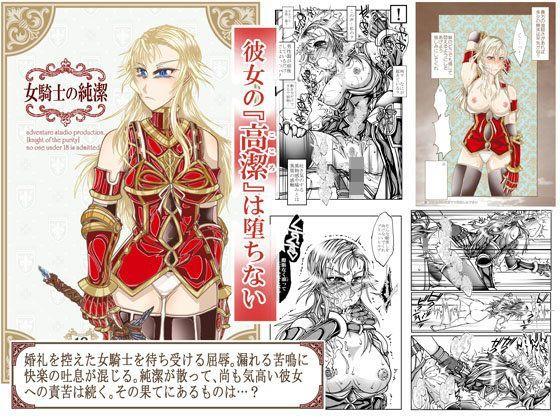 女騎士の純潔の表紙