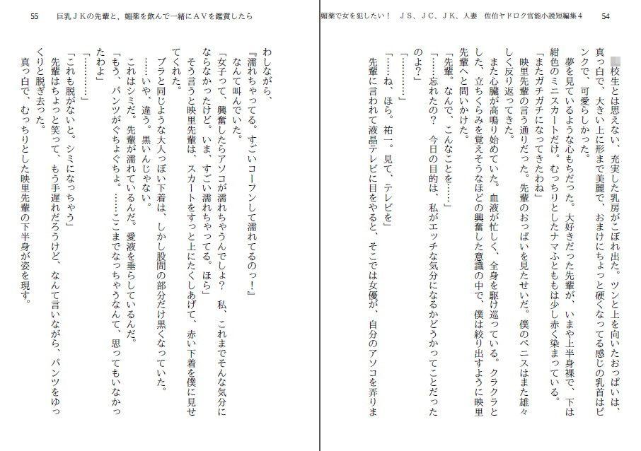 同人ガール:[同人]「媚薬で女を犯したい! JS、JC、JK、人妻 佐伯ヤドロク官能小説短編集...