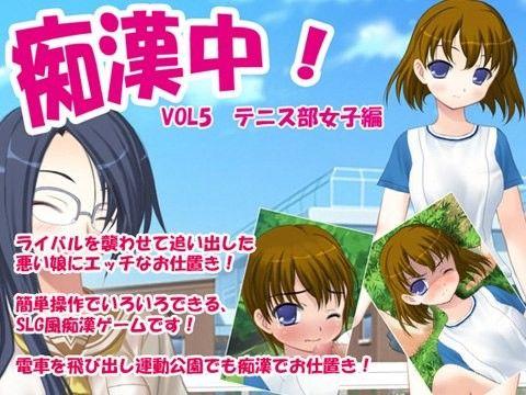 【オリジナル同人】痴漢中!Vol5 テニス部女子編