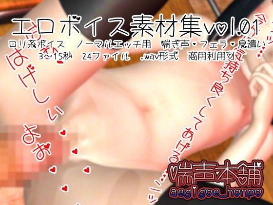 エロボイス素材集 vol.01