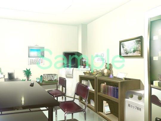 むらくも著作権フリー背景CG素材集 13『病院2』