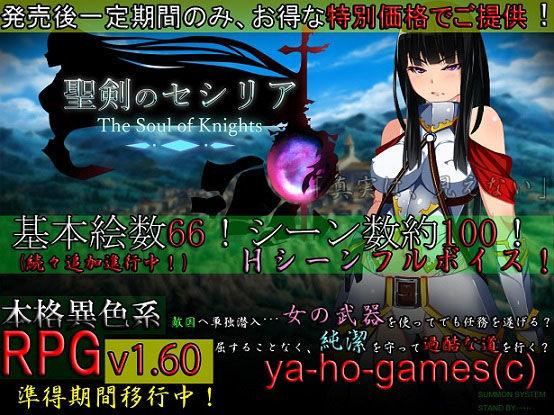 聖剣のセシリア〜The Soul of Knights〜の表紙