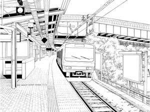 ARMZ漫画背景集 vol.2 [Kaho] 600dpi