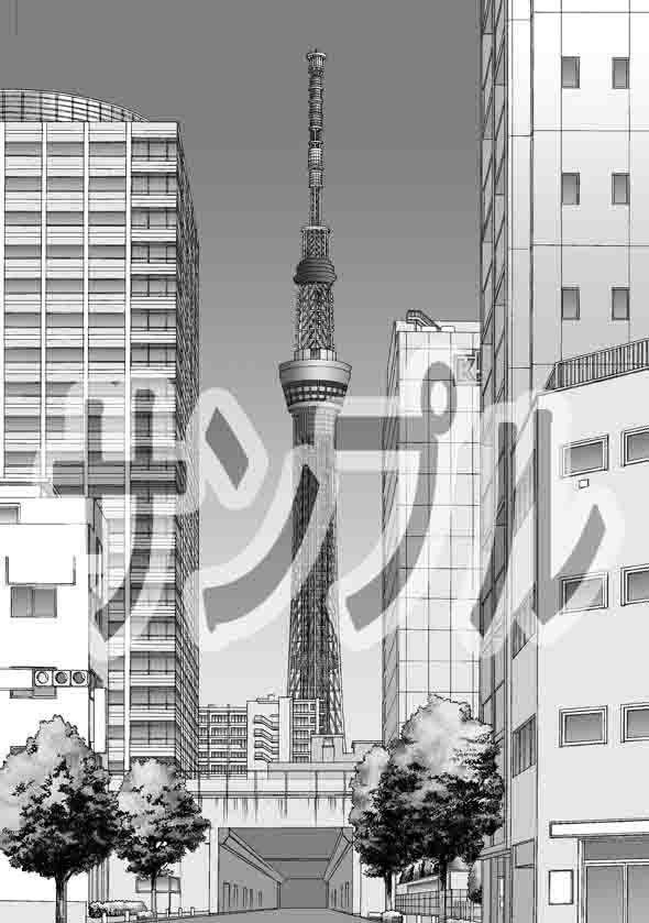 ARMZ漫画背景集 vol.24[Fumi-600]