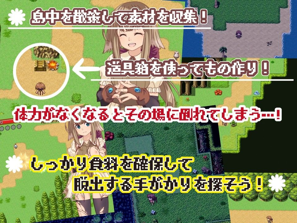 ココナのサバイバル日誌~ドワーフちゃんのHな無人島ライフ~