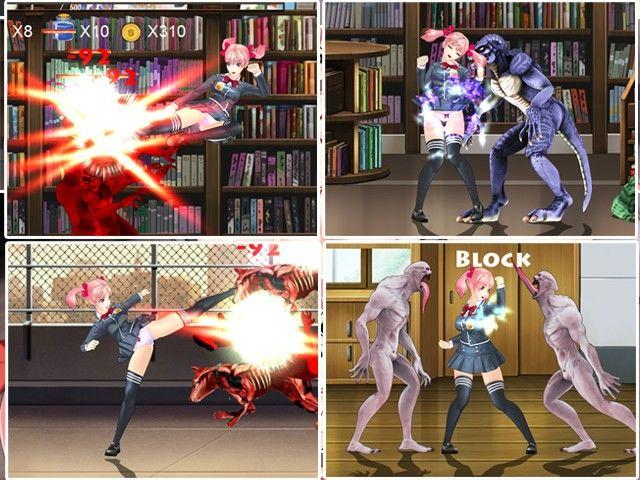 FIGHTING GIRL SAKURA-Rのエロ同人CG画像 3