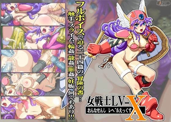 【ゲーム系同人】女戦士 LV_X