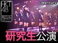 2014年4月21日(月) 研究生「脳内パラダイス」千秋楽公演