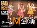 2012年11月15日(木) チームM「アイドルの夜明け」公演