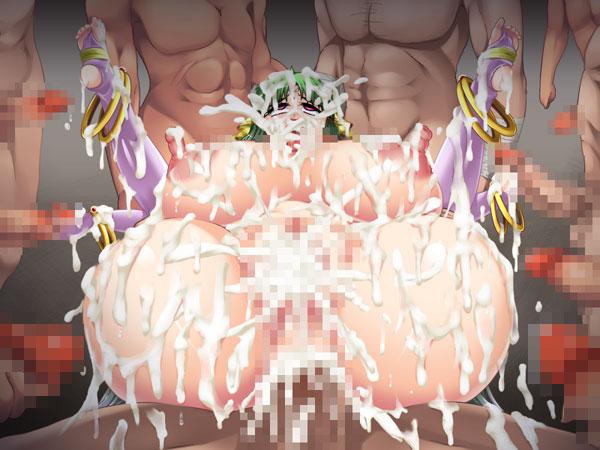 今日のおかず 淫乳聖女アネモネ〜魔物精液で穢されアヘる天界一の超爆美乳!〔じぃすぽっと〕