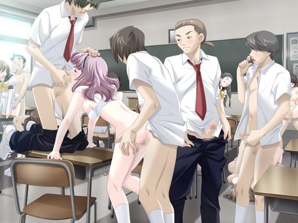 授業deえっち?~必修科目は性きょーイクッ! 先生や同級生とあへあへぺろぺろ勉強中~