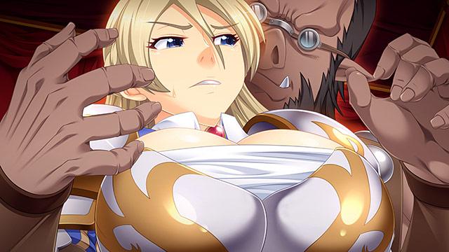 恥辱の女騎士「オークの出来そこないである貴様なんかに、この私が……!!」_サンプル画像03