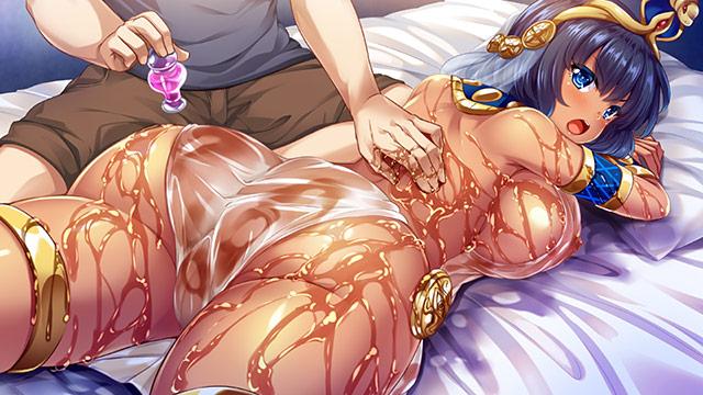 クレオパトラがやってきた!? 〜現代に降臨した古代女王と濡れ透け性生活〜