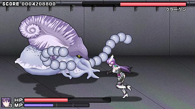 極煌戦姫ミストルティア ベルトスクロールアクション