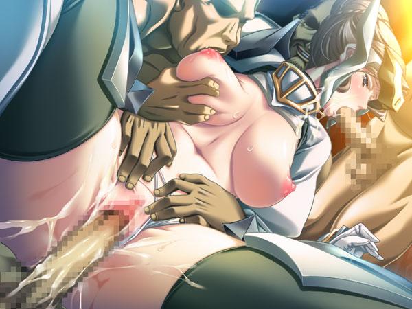 【二次】黒獣 〜ダークエルフの女王・隷従騎士・人妻聖騎士〜のエロ画像まとめのエロ画像やエッチシーンを紹介中:エロゲ画像専門