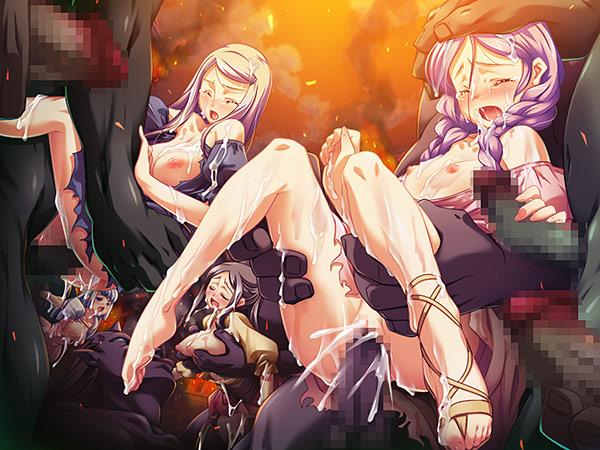 黒獣・改 〜気高き聖女は白濁に染まる〜