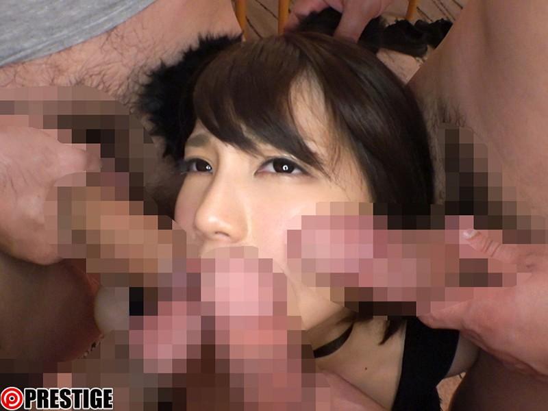 ひたすら生でハメまくる、終らない中出し性交。 我を忘れてイキ狂う鈴村の膣奥へ、無制限中出し大乱交 鈴村あいり の画像5