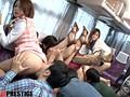 長谷川ゆなとエスカレートしすぎるドしろーと娘6人&AV女優6人がイク!!プレステージ的ファン感謝祭!!バスツアー 2