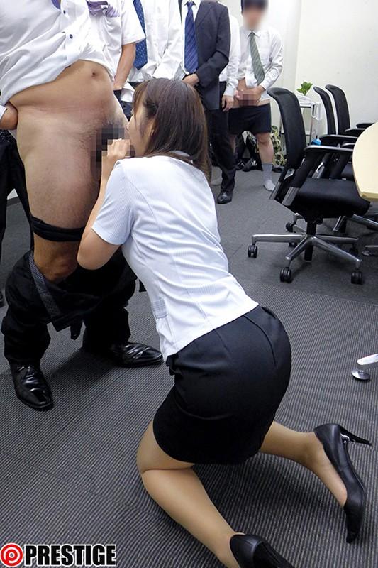 シロウト制服美人 20 働く女のタイトな制服を白濁精子で汚し尽くす!! の画像8