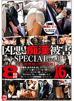 「凶悪!痴漢被害 SPECIAL vol.3」のパッケージ画像
