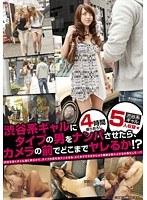 渋谷系ギャルにタイプの男をナンパさせたら、カメラの前でどこまでヤレるか!?【kgb-023】