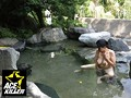 スキだらけの若奥さまが混浴温泉に一人きり… 裸同士でナンパしたら中出しまでヤれた! 2 11