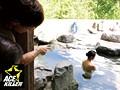 スキだらけの若奥さまが混浴温泉に一人きり… 裸同士でナンパしたら中出しまでヤれた! 2 8