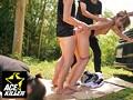 青姦スポットでパコってるオンナを彼氏の前で輪姦した一部始終 13