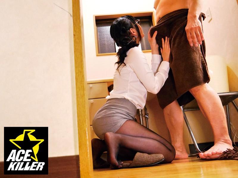 自宅に呼んだ洗体デリヘル嬢は、黒ストッキング着用の本物OL!勃起チ◎ポ見せつけ生ハメ成功◆ の画像15