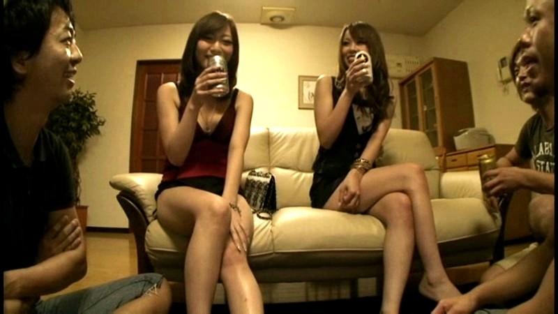 【個人撮影】男友達と車内でエッチする女子校生の性行為記録【素人】