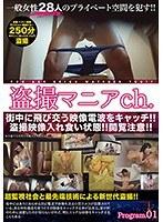 盗撮マニアチャンネル Program.01 女性達が見られたくない痴態変態行為を次から次へと晒される!! ダウンロード