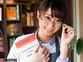 某お嬢様大学英文学科 眼鏡美少女な古書店員 逢月はるな AVデビュー AV女優新世代を発掘します! 1