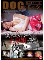 僕が管理しているマンションに住む上京娘の部屋を盗撮した上に、夜這いをしてみると…