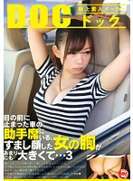 目の前に止まった車の助手席にいる、すまし顔した女の胸があまりにも大きくて… 3