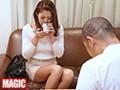 利尿剤入りのお茶を飲まされた女性客が催す尿意に耐えられず着衣お漏らし!!強制失禁マッサージ 10