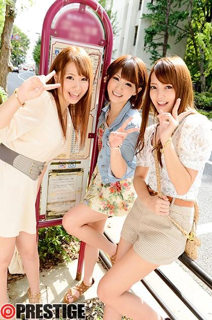 [YRZ-060] 連れコンお泊り大作戦!! Vol.6 仲良し女子大生3人