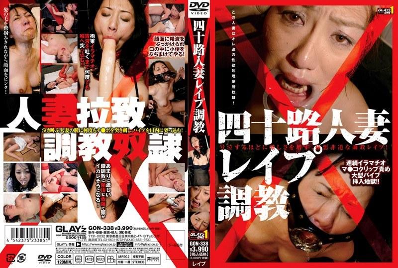 便所にて、四十路の熟女、青山玲加出演のレイプ無料動画像。四十路人妻レイプ調教