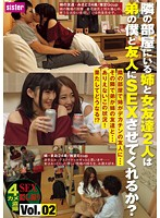 隣の部屋にいる姉と女友達2人は弟の僕と友人にSEXさせてくれるか? Vol.02 ダウンロード