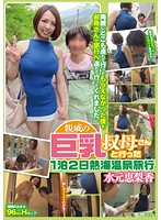 「親戚の巨乳叔母さんと行った1泊2日熱海温泉旅行 水元恵梨香」のパッケージ画像
