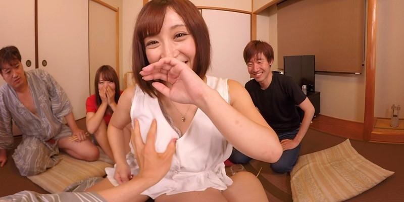 【エロVR】激カワ女子大生3人組と酔った勢いで王様ゲーム→理性ぶっ飛び大乱交