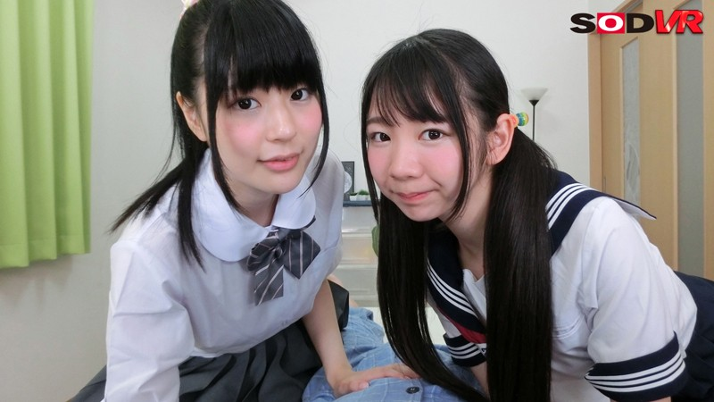 【エロVR】エッチ大好き痴女姉妹が隠語を連発するハーレムセックス