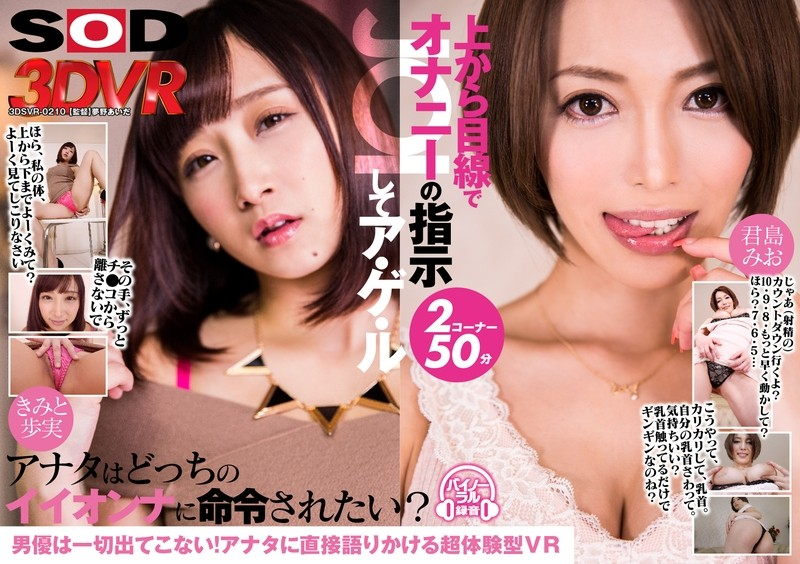 DSVR-210 【VR】 VR Masturbation Instruction (JOI) From The Above From Above A GE Le Kimishima Mao Kimi To Fun