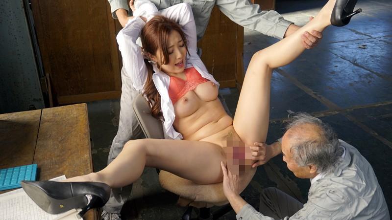 老働者に輪姦され性奴隷と化す巨乳未亡人 伊東真緒 の画像14